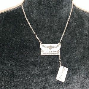 """Jewelry - 14 inch adjustable """"Je t'aime"""" love letter chain"""